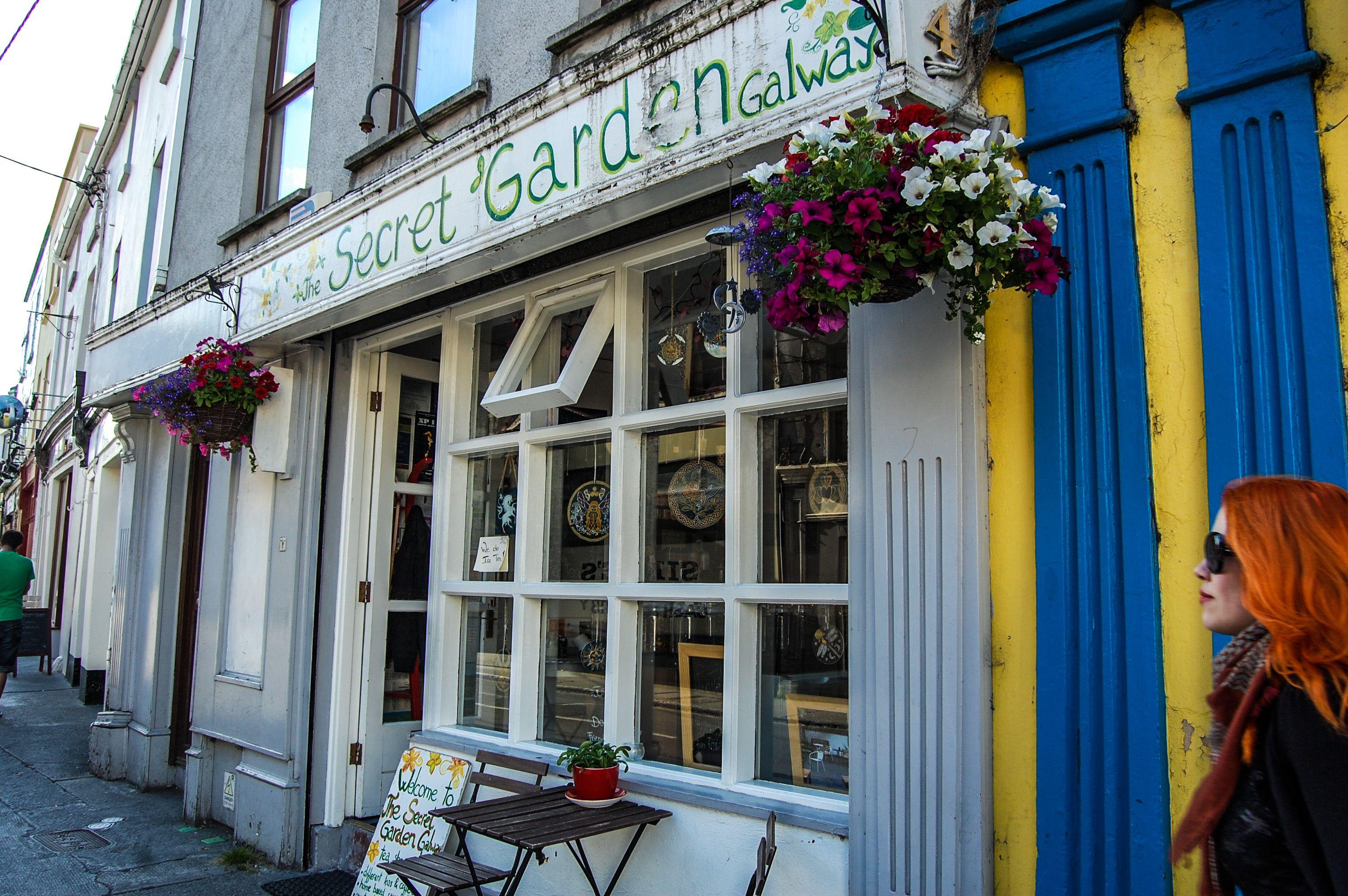 The Secret Garden tea room & café in Galway, Ireland