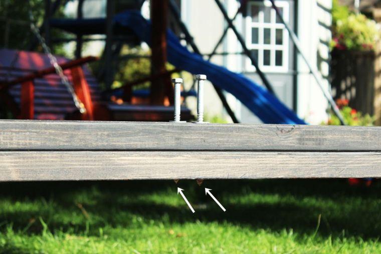 Fabriquer une pergola murale ou adossée  comment installer un - construire sa terrasse en bois soimeme