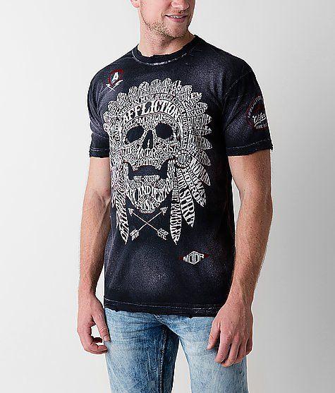 Affliction American Customs Native Tongue T-Shirt - Men s Tops ... 7bdd80ac3