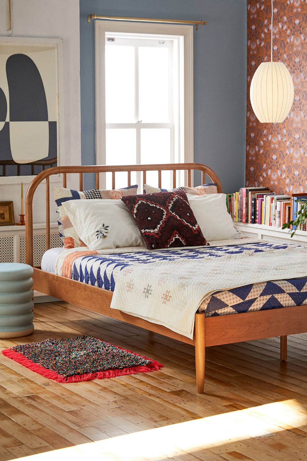 Evie Bed in 2020 Home, Furniture, Wood bed frame