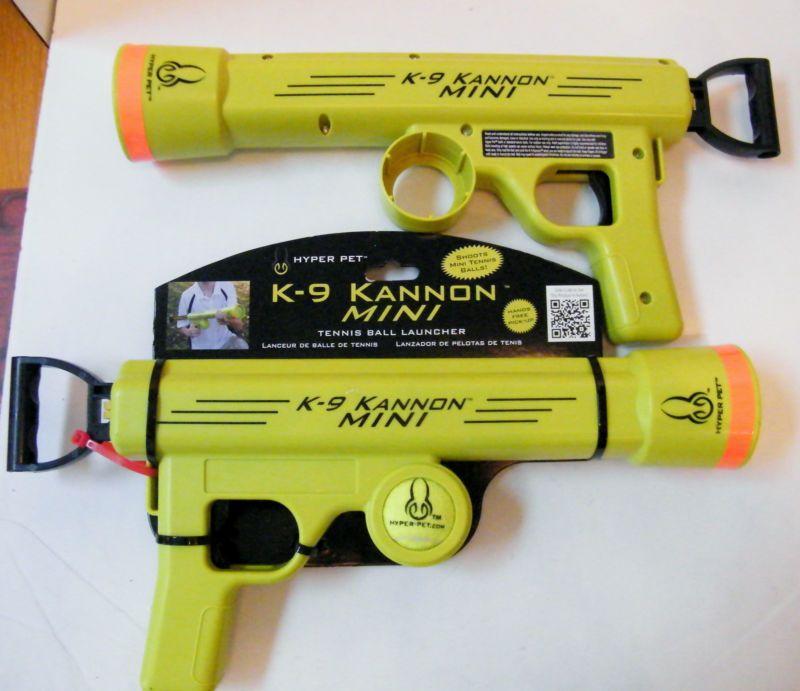 K 9 Kannon Mini Tennis Ball Launcher By Hyper Pet X2 1 Noc 2nd Used Hyper Pet Ball Launcher Tennis Ball Launcher