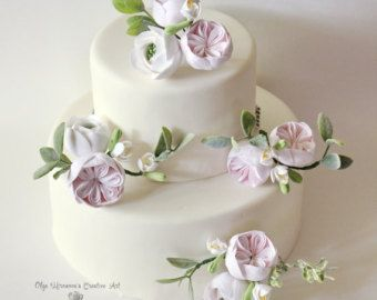 Cake Wedding Poppy Topper