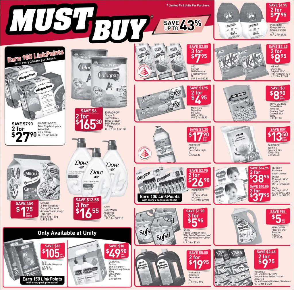 NTUC FairPrice Singapore Your Weekly Saver Promotion 1117