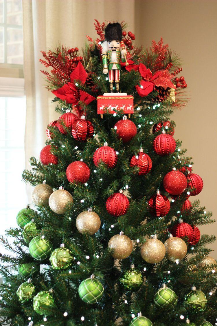 A Colorblock Nutcracker Christmas Decor Nutcracker Christmas Decorations Traditional Christmas Decorations Nutcracker Christmas
