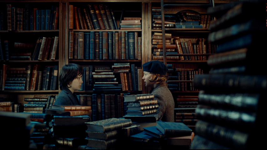 Don T You Like Books Hugo Movie Hugo Cabret Film Stills