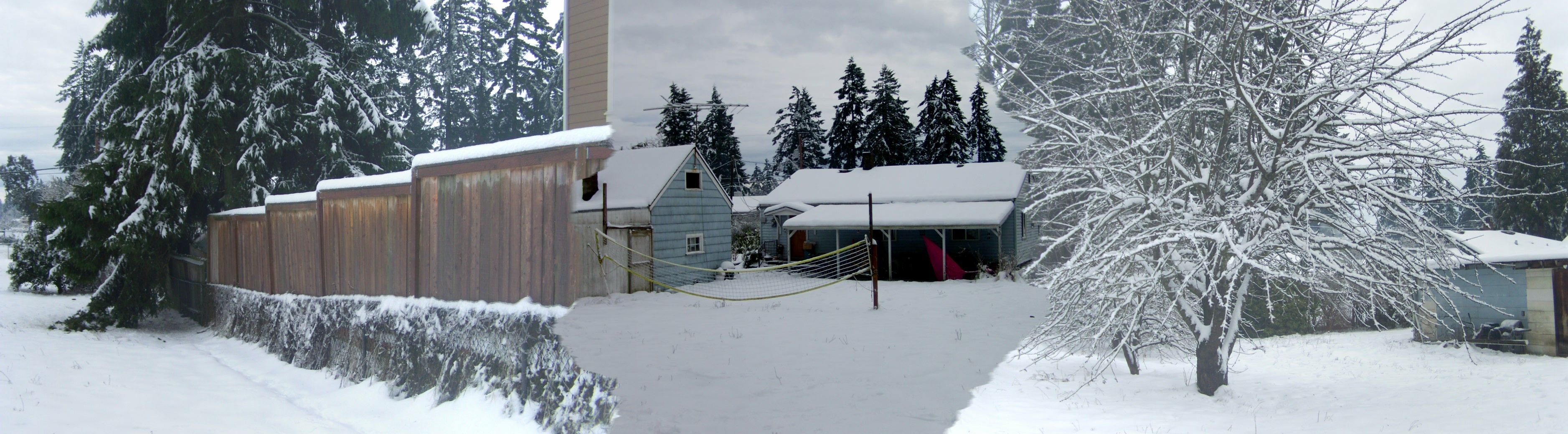 Winter storm 2012, Seattle Area