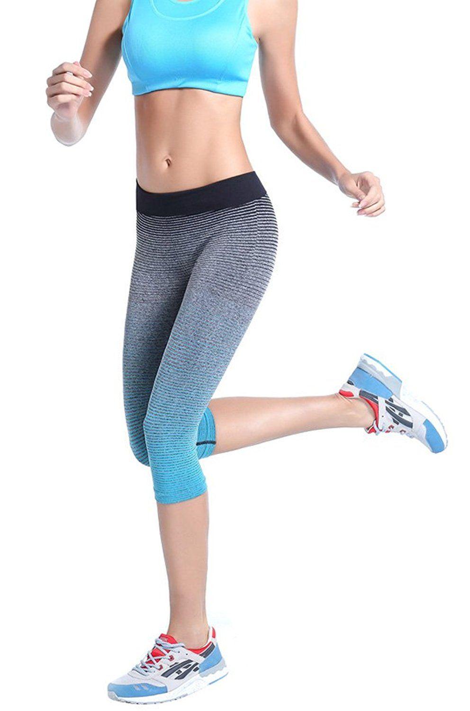 bd84df446c6f5 Womens Ladys Fashion Yoga Sport Workout Leggings Pants   Yoga world ...