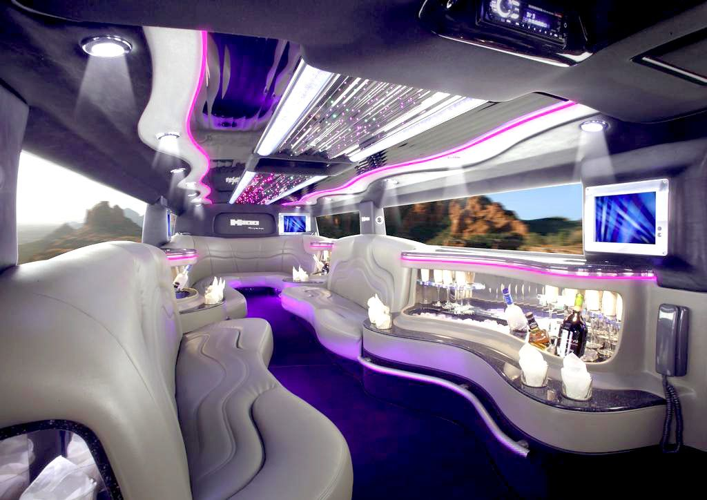 Inside Limousine Hummer Limo I Came Across This Type Of