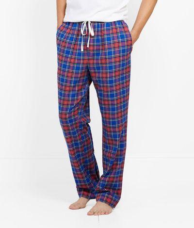 Men S Lounge Pants Nickerson Plaid Lounge Pants For Men