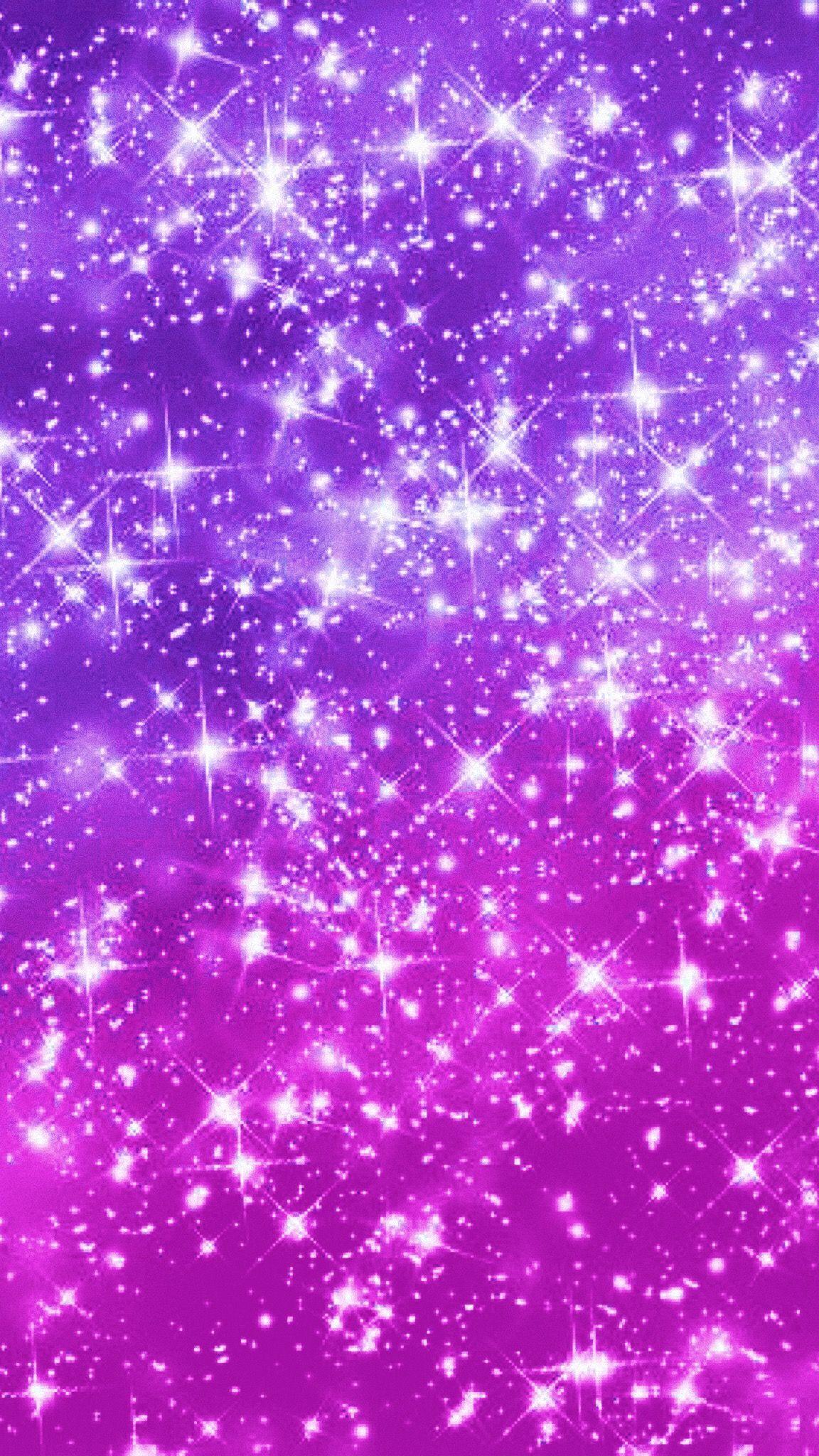 Purple sparkle glitter wallpaper GlitterFace Glitter