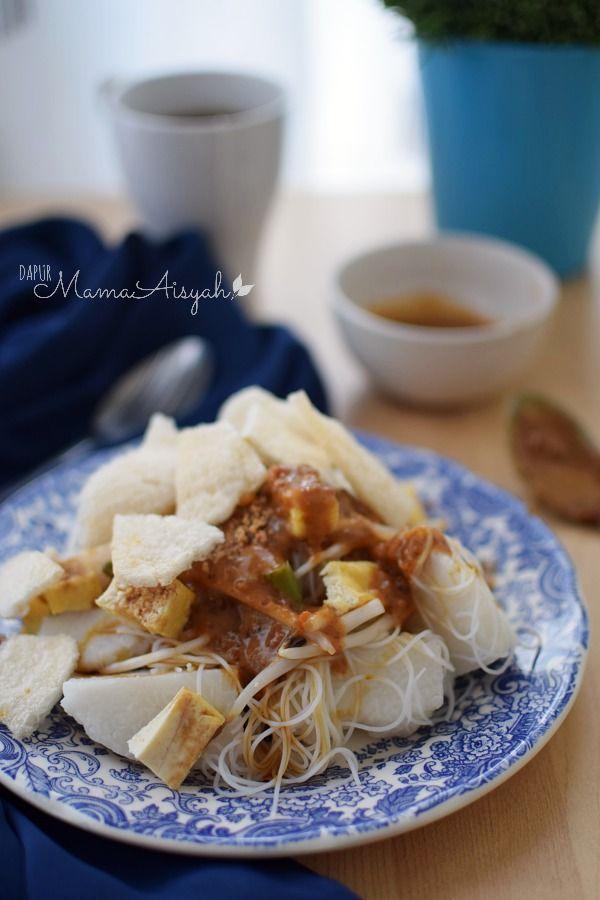 Dapur Mama Aisyah Ketoprak Resep Makanan Makanan Resep Masakan Indonesia