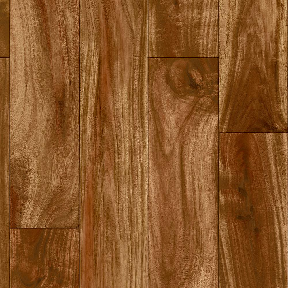 Trafficmaster Redwood Acacia 12 Ft Wide X Your Choice Length Residential Vinyl Sheet C9490406k564g14 The Ho Vinyl Sheet Flooring Vinyl Sheets Vinyl Flooring