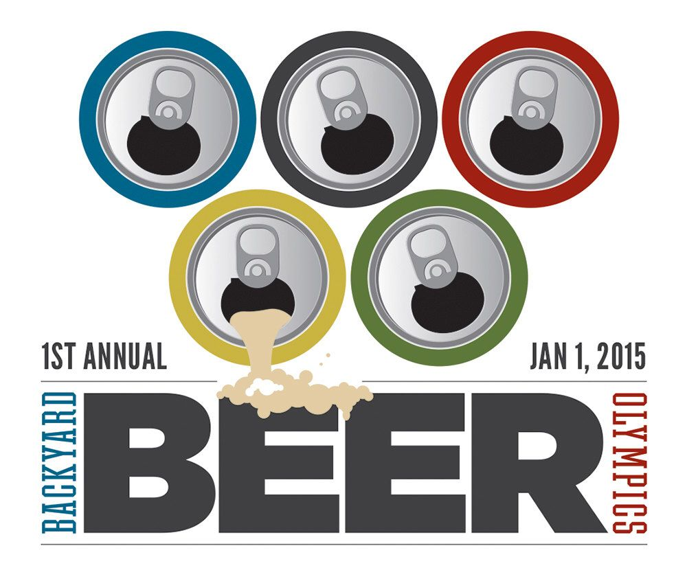 Backyard Beer Olympics Invitation By BeardandBeez On Etsy