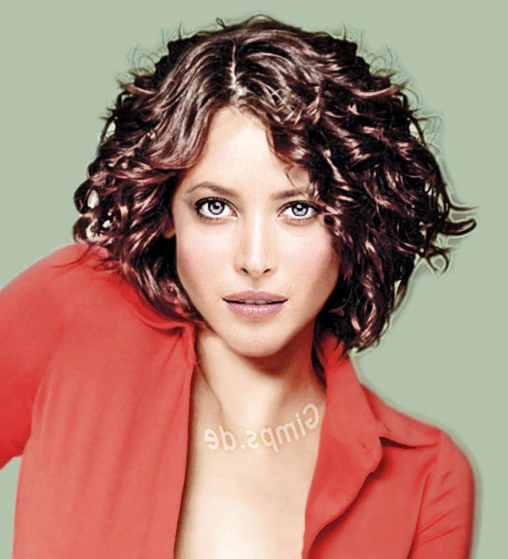 image result for mid-short hairstyles for wavy hair | hair
