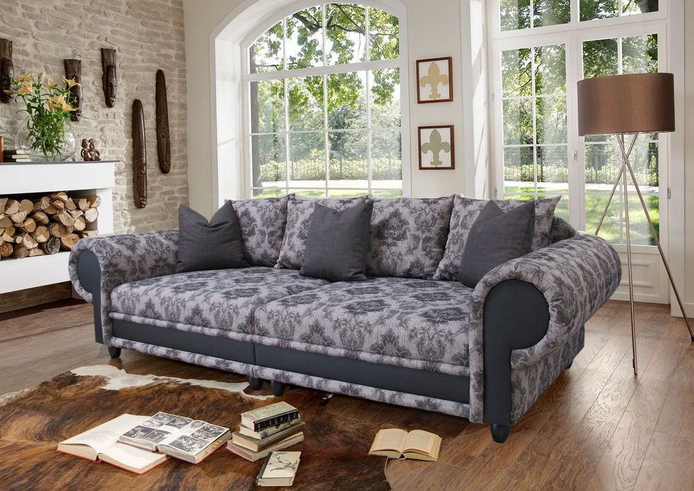 big sofa sissi kolonialstil xxl mega kolonialsofa. Black Bedroom Furniture Sets. Home Design Ideas