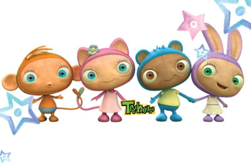 Waybuloo Characters Yojojo De Li Treehouse Tv Nok Tok And Lau Lau Character Lau Lau Mario Characters