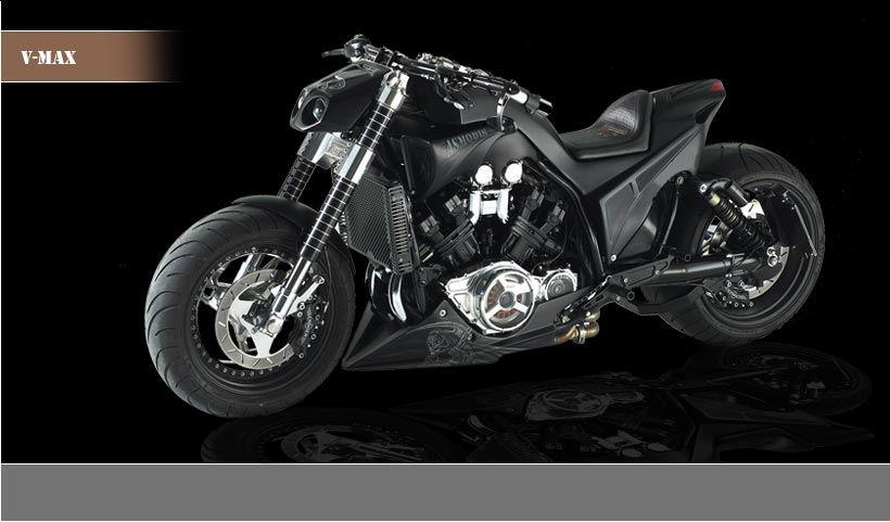 V max asmodis custom vmax pinterest for Yamaha vmax cafe racer parts