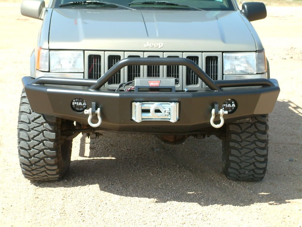 New Trailready Pre Runner Front Bumper North American Grand Cherokee Association Jeep Zj Jeep Grand Cherokee Zj Classic Ford Trucks