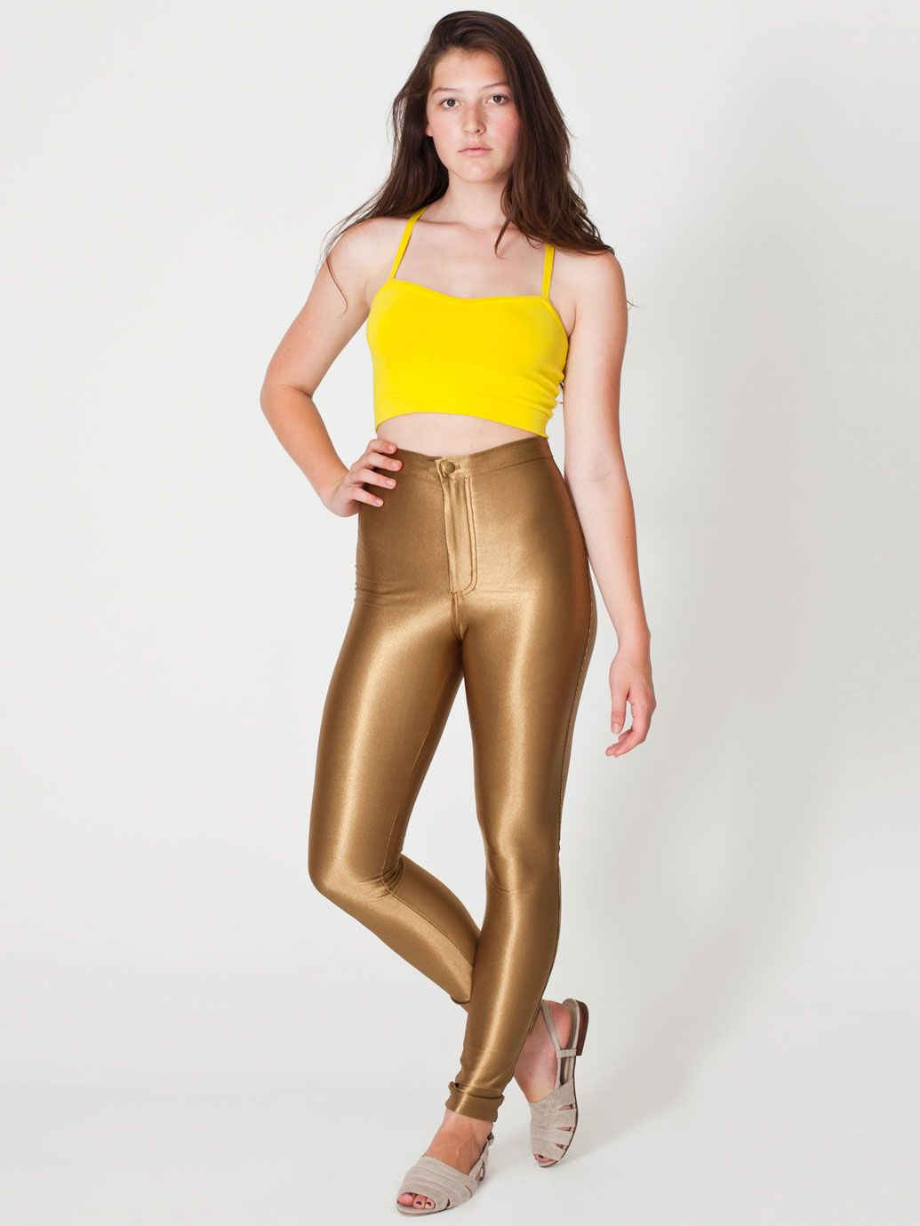 The Disco Pant | Form-Fitting | Women's Pants | American Apparel