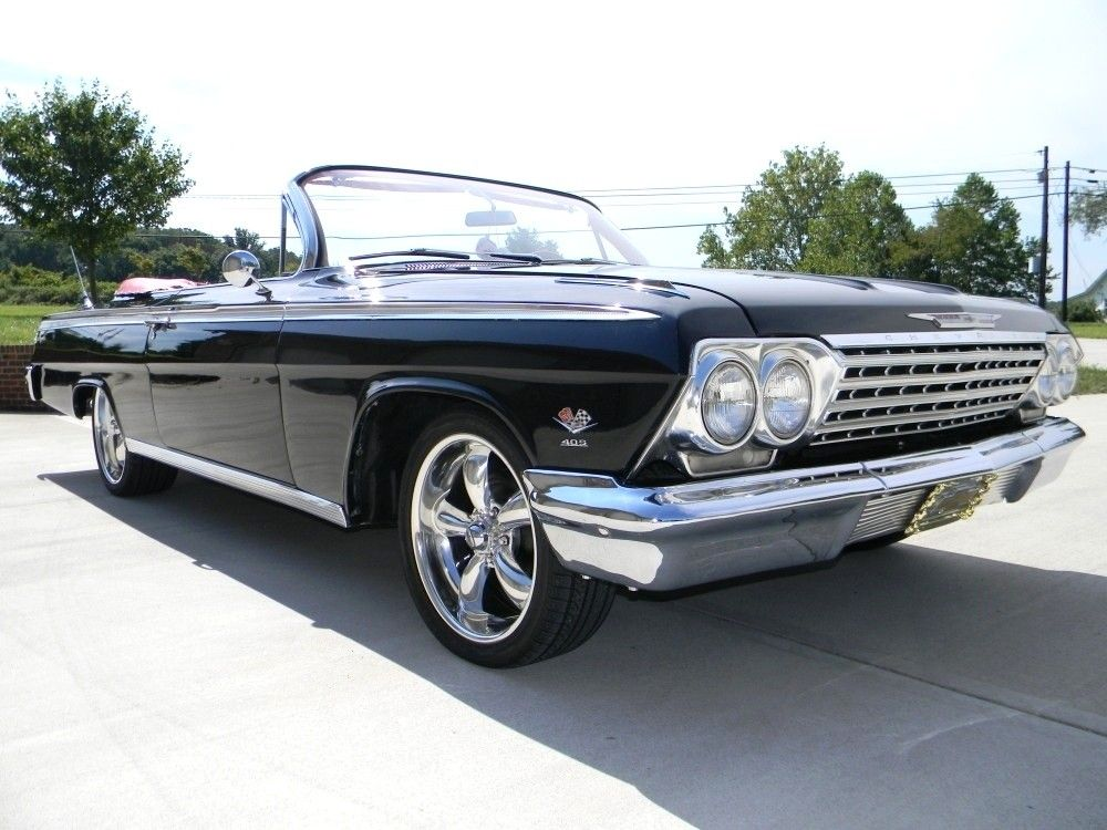 1962 Impala Ss Interior Chevy Convertible Black For In United States