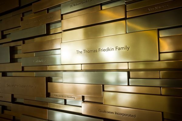 Donor Wall | EGD for Work | Pinterest | Walls, Signage and ...