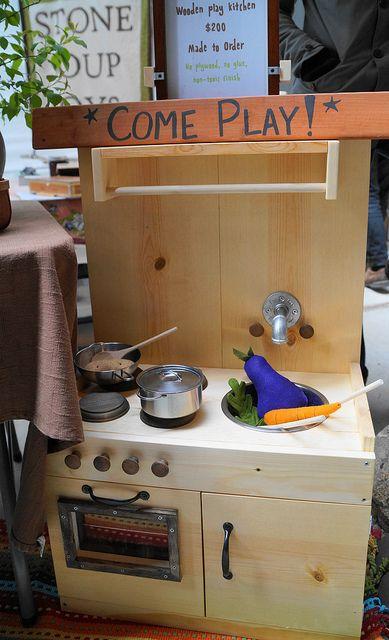 Stone Soup Toys Kitchen