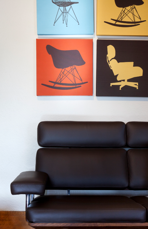 Take a load off!  #EamesSofaCompact #hermanmiller