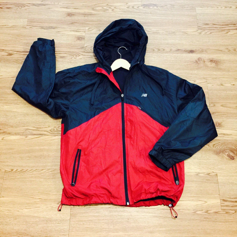 507729688f88e Vintage New Balance Windbreaker Jacket by VNTGvault on Etsy ...