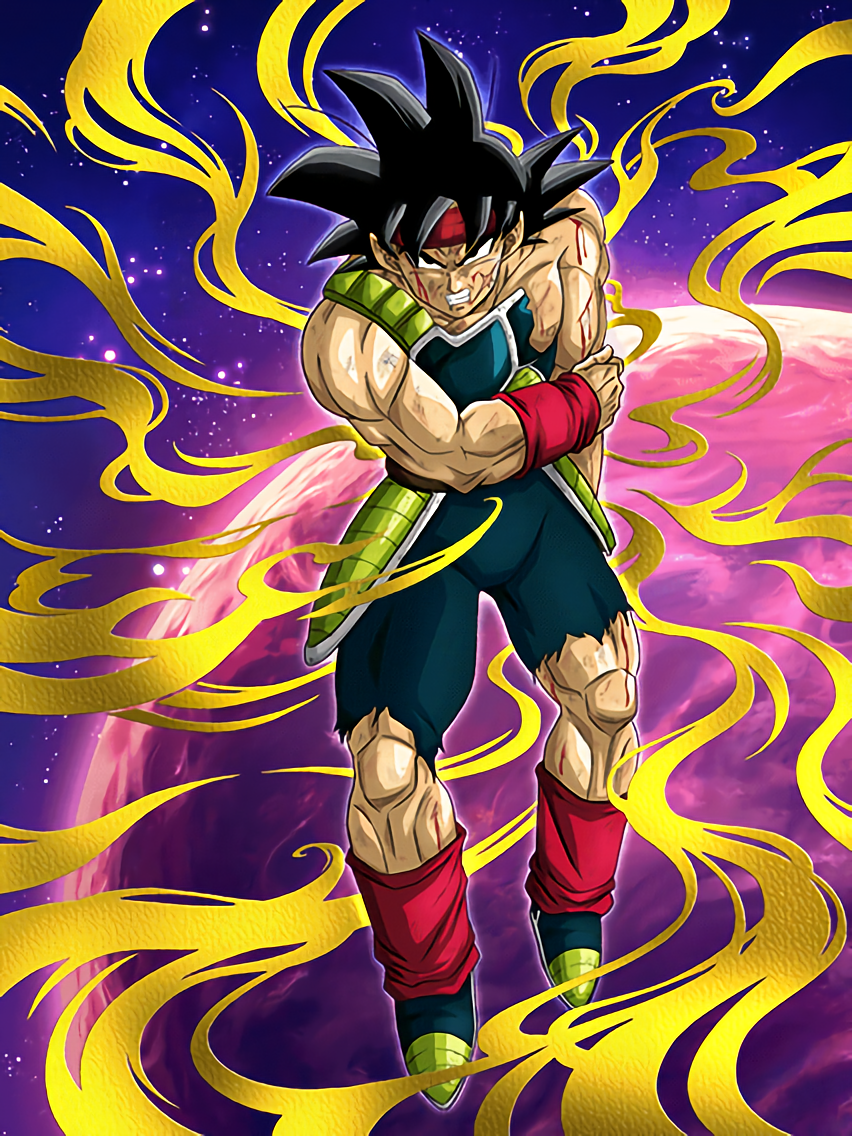 Doomed Future Bardock Dragon Ball Z Dokkan Battle Japanese Version Personajes De Dragon Ball Arte Batman Dibujo De Goku