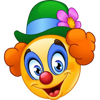 Clown Smiley Funny Emoticons Emoticons Emojis Smiley Emoji