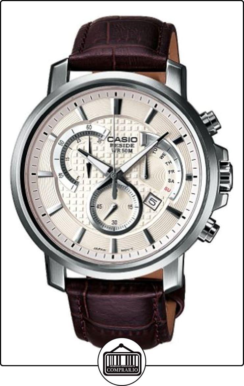 e66968784eb0 Casio Edifice - Reloj analógico de caballero de cuarzo