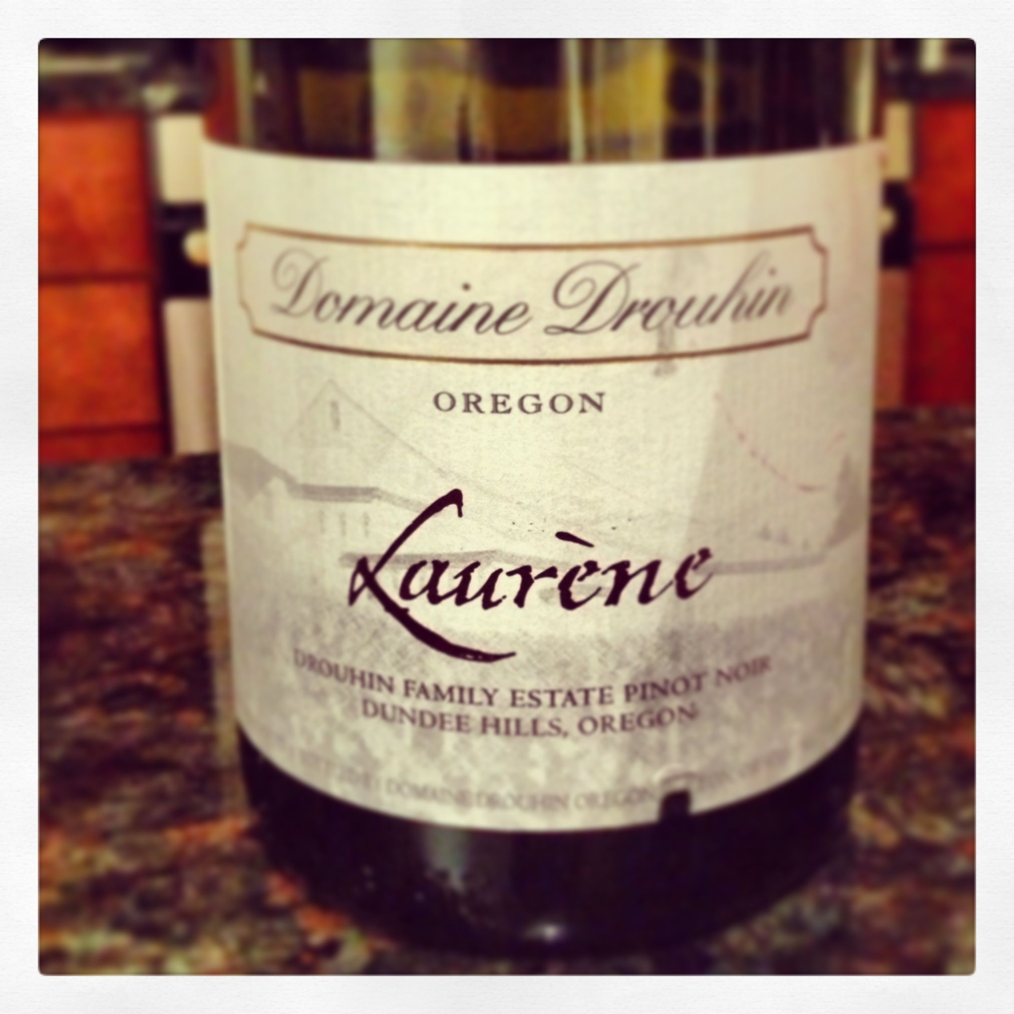 Willamette Valley OR 2006 Domaine Drouhin Laurne Pinot Noir Exceptionally Soft With Cherries