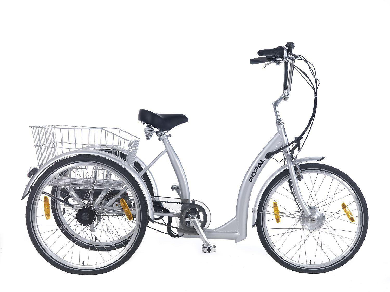 24 Elektro Dreirad E Dreirad Senioren E Bike Reha Fahrrad 250w Pedelec 7 Gang Dreirad Pedelec Lastenfahrrad