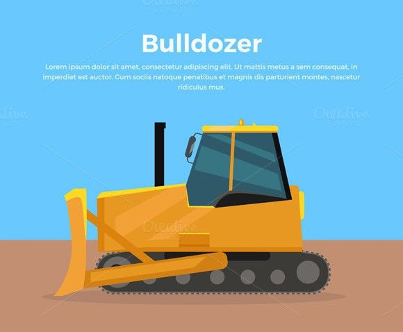 Bulldozer Banners Massage Therapy Banners