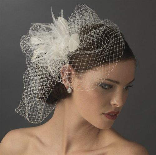 Birdcage Veils This Stunning Wedding Veil Comes In Either White