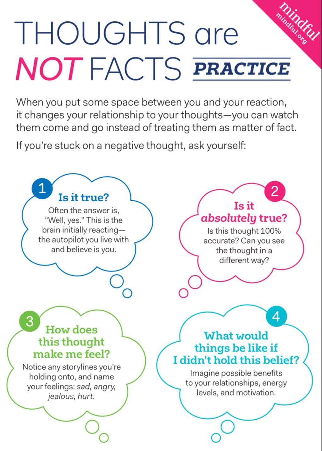 """Shamash on Twitter: """"Thoughts are not facts practice. #mindfulness https://t.co/u1YMdSXPua"""""""
