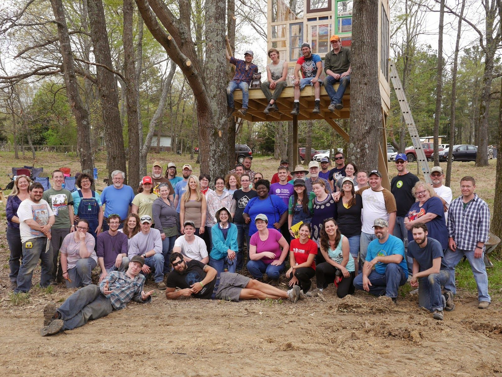 Group photo from Relax Shacks workshop in Memphis TN So much fun and I learned a lot and met the coolest people Highly re mend