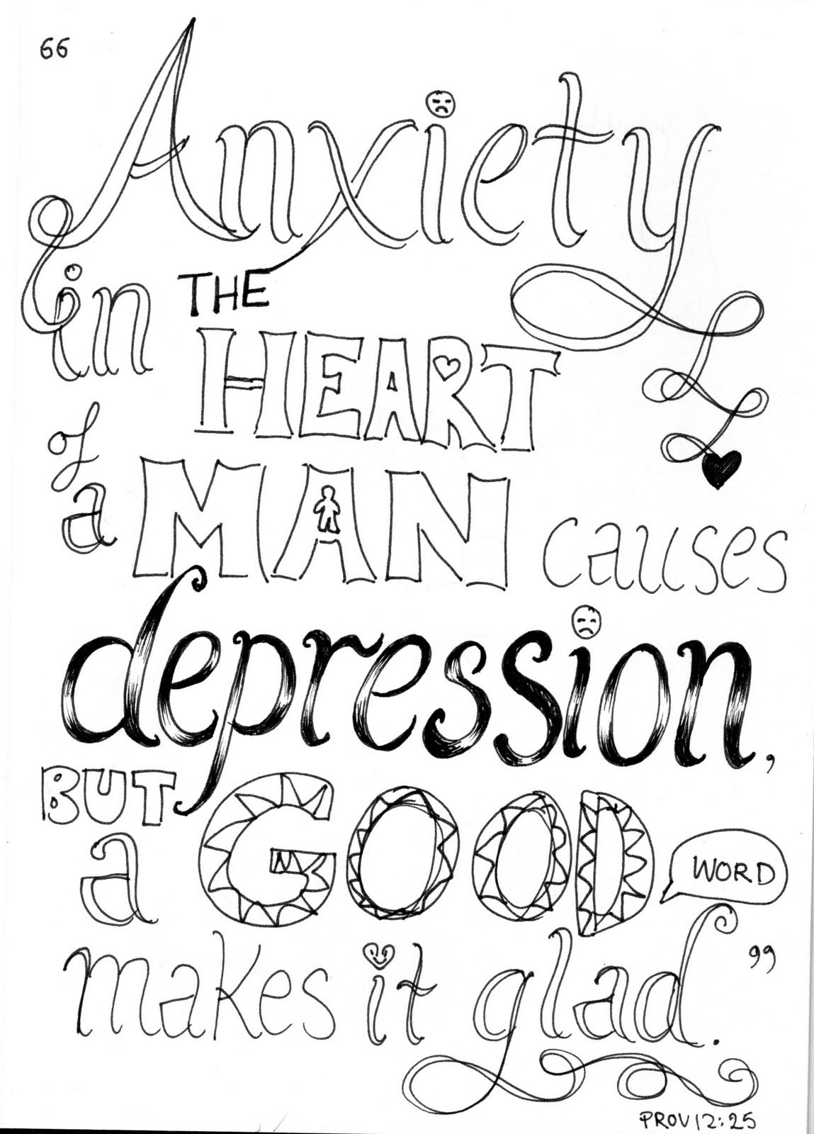 Anxiety In The Heart Of A Man
