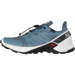 Photo of Zapatillas de trail running para mujer Salomon Supercross Gtx W, talla 39? en Bluestone / White / India Ink, tamaño 39