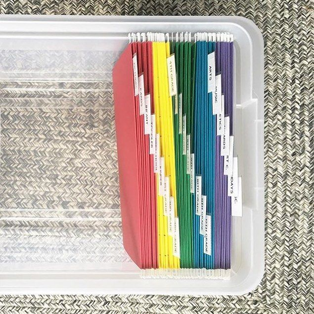 This is one of the best organizing hacks I've ever done