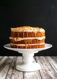 Triple Biscoff Carrot Cake The Tough Cookie Recipe Cake Carrot Cake Biscoff Cake