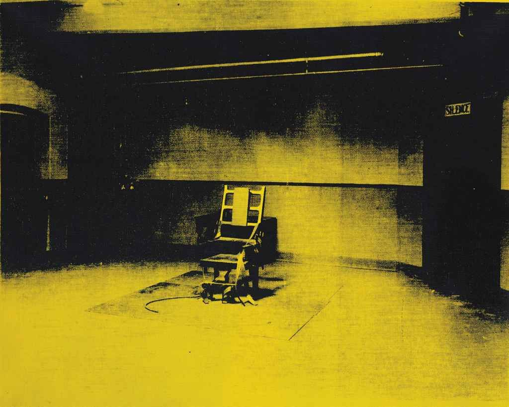 Electric chair andy warhol - Andy Warhol 1928 1987 Little Electric Chair