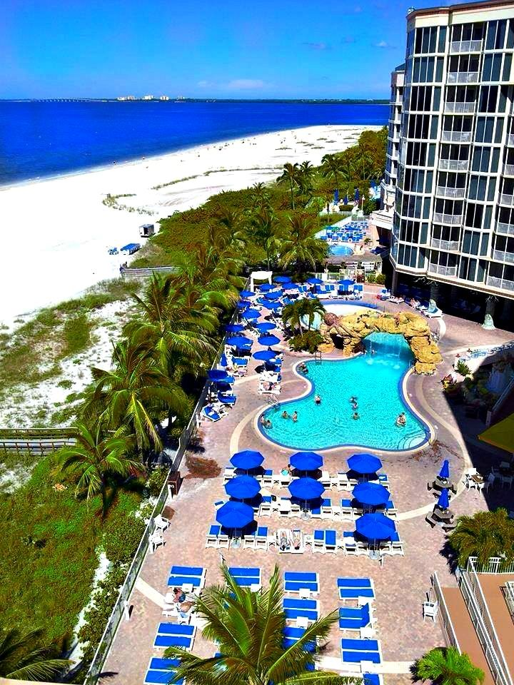 Pink Shell Beach Resort Hotel Spa In Ft Myers Florida