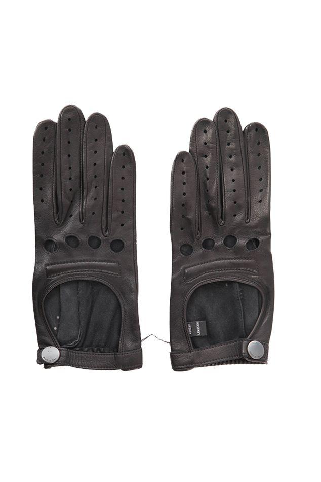 Rag & Bone Moto Glove | Blue&Cream