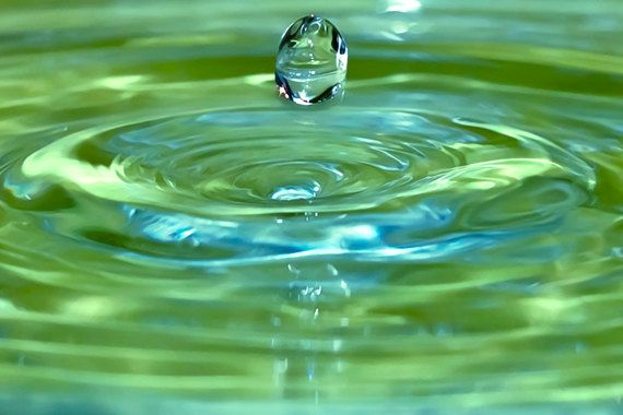 Droplet Photograph 8x12 water photography by AnaPontesPhotography