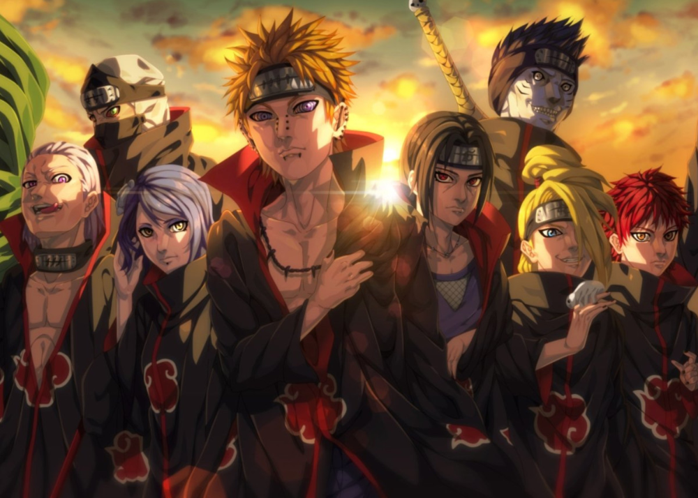 Naruto Poster Art Print By Fantasy Display Displate In 2021 Anime Wallpaper Akatsuki Hd Anime Wallpapers