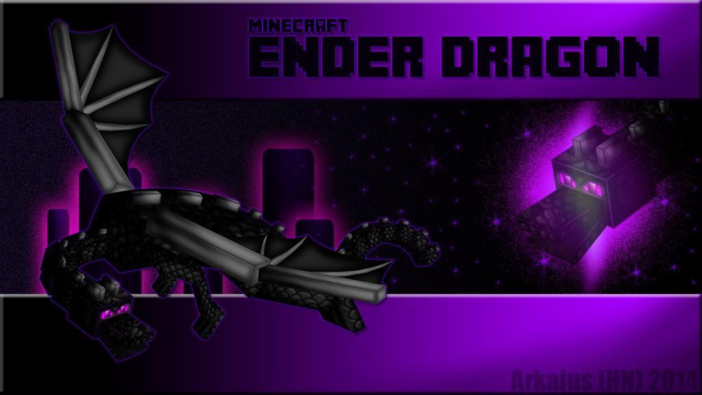 Ender Dragon Wallpaper By TheLegendaryArkaius