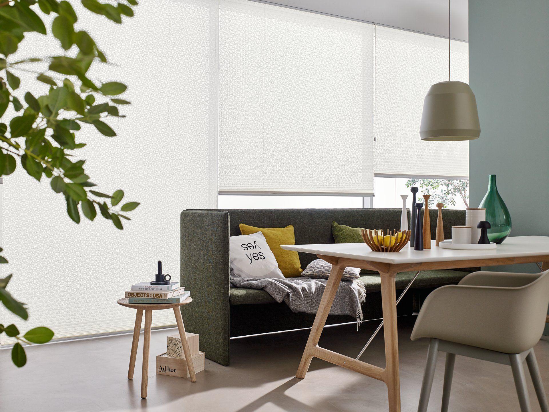 Faltstores & Plissees dekorativer Sichtschutz