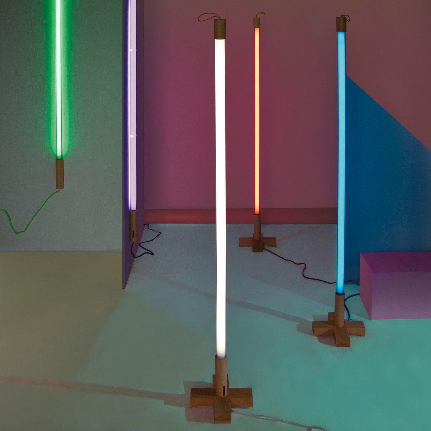 Sleek, sculptural, and stylish, the Seletti Light Tube lends