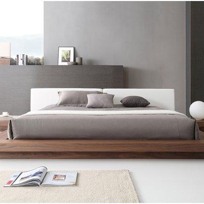 eb3cd9a232f Orren Ellis Pollard Faux Leather Upholstered Platform Bed Size  Eastern King